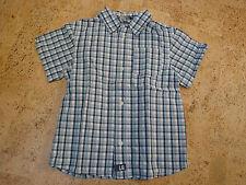 Jungen Hemd von H&M Größe 104 in weiß-blau-grau