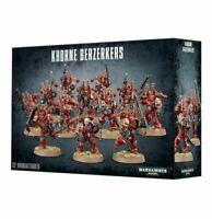Games Workshop Warhammer 40K Chaos Space Marines Khorne Berzerkers Boxed Set