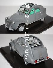 Norev Citroën 2CV AZL Malle Bombée 1957 gris 1/18 181499 12