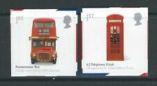 GRAN BRETAGNA 2009 DESIGN BRITANNICO CLASSICS BUS ,CABINA TELEFONICA AUTOADESIVO