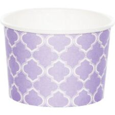 8-PC Moroccan Printed Treat Cups by Celebrate It, Lavender