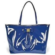 Kate Spade New York Veranda Place Patent Blossom Baby Bag - French Navy