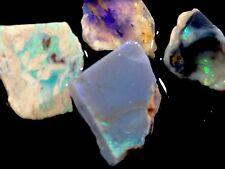29cts. Lightning Ridge Opal Gem Rough Offcuts/great Color N Flash