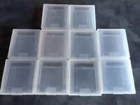 10pcs Plastic Cases Game Cartridge Storage Box For Nintendo GameBoy Color GB GBC