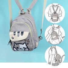 Game Neko Atsume Cat Backyard Anime Multifunctional Shoulder bag School Backpack