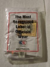 NWT Cliff Keen White Athletic Football Offical Referee Pants Knickers - Size 50