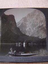 Stereoscope Photograph Watzmann Mountain And Konigssee   Germany