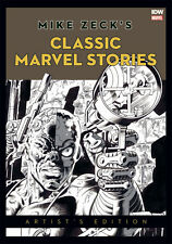 MIKE ZECK'S Classic Marvel Stories ARTIST'S EDITION :: HeroesCon Variant SIGNED