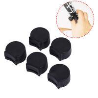 5PCS Black Rubber Clarinet Thumb Rest Cushion Comfort Protector