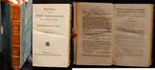 K/ RECUEIL DES ACTES ADMINISTRATIFS DÉPARTEMENT DE L'OISE 1825 Restauration