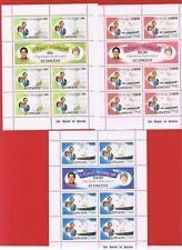 St. Vincent #627-632   MNH OG  Sheets  of 7  Charles & Diana   Free S/H