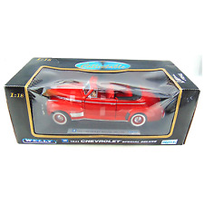 Welly 1941 Chevrolet Special Deluxe 1:18 Scale Diecast Metal Red New