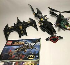 Lego Aerial Superhero Vehicle Lot Including Batcopter, Batwing, Jokercopter, etc