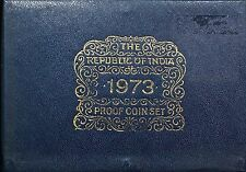 The Republic Of India Proof Set 1973 Coins (MINT) 10 coins