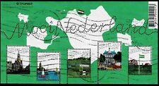 2005, Blok Mooi Nederland verzamel (2) Used