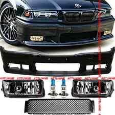 PARE CHOC + ANTIBROUILLARD CHROME BMW SERIE 3 E36 325 TDS TD 318 320 323 325 i