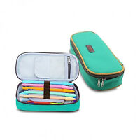 New Best Multi-layer Pencil Case Large Capacity Pen Holder for Student Green