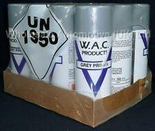 12 400ml Grey Primer Acrylic Spray Paint 400ml Aerosol Can Free Post