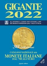 GIGANTE 2022 CATALOGO MONETE ITALIANE