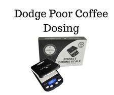 Pocket Dosing Scale Coffee Gear Espresso  500g Dodge Poor Coffee Brewing Dosing