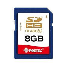 PRETEC 8GB CLASS 10 SDHC MEMORY CARD