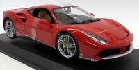 Burago 1/18 Scale Diecast - 18-76102 Ferrari 488 GTB 70th Anniversary Red