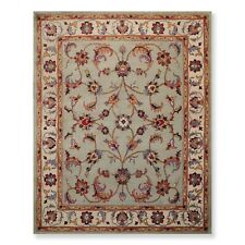 8' x 10' Handmade 100% Wool Traditional Oriental Area rug 8x10 Traditional Aqua