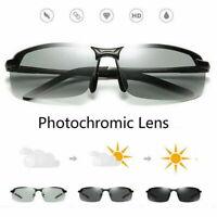 Photochromic Polarised Sunglasses UV400 Polarized Fishing Driving Eyewear HOT