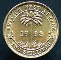2 SHILLINGS 1938 AFRIQUE OCCIDENTALE BRITANNIQUE / BRITISH WEST AFRICA