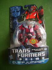 TakaraTomy Transformers Prime Robots In Disguise FIRST EDITION Cliffjumper MOSC