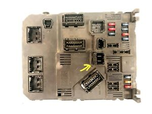BODY COMPUTER PEUGEOT 206  CITROEN C3 1998>2009 1.4 HDI SIEMENS 9649627880 BSI4
