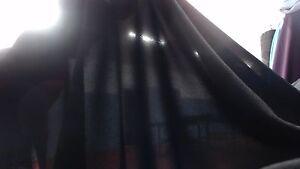 Double Georgette Last piece $4/m x 6.5m fabric 115cm Width, Black color.