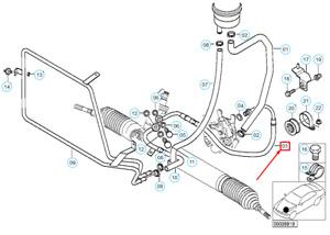 BMW Z3 E36 Druck Schlauchleitung 32416754173 6754173 Neu Original