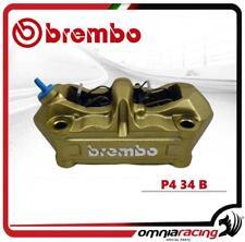 Brembo Pinza Radiale derecho fre P4 34 B Colore Oro intersasse 100mm + pastillas