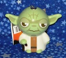 Brand New Yoda Star Wars Decoupage Style Christmas Ornament Hallmark USA Seller