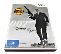 007 Quantum Of Solace Nintendo Wii PAL *Complete* Wii U Compatible
