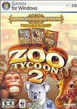 Zoo Tycoon 2: Zookeeper Collection (PC, 2006) *New,Sealed*