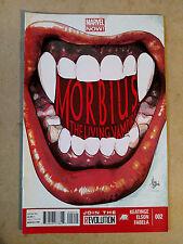 MORBIUS THE LIVING VAMPIRE #2 FIRST PRINT MARVEL COMICS (2013)