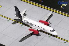 GEMINI JETS SILVER AIRWAYS SAAB 340B SF-340 1:200 DIE-CAST G2SIL709 IN STOCK