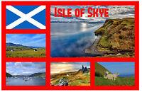 ISLE OF SKYE, SCOTLAND, UK - SOUVENIR NOVELTY FRIDGE MAGNET - NEW - GIFT / XMAS
