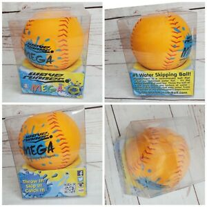 waverunner orange baseball red thread mega ball water toy christmas gift