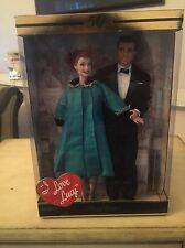 I Love Lucy 50th Anniversary Lucy & Ricky  Barbie Doll Set New In Unopened Box