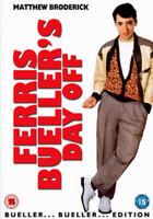 FERRIS BUELLER'S Day Spento Edizione Speciale John Hughes Matthew Broderick DVD