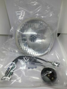 BSA C15 BANTAM D7 D10 D14 5 3/4 HEAD LAMP BEAM UNIT BPF WITH PILOT APERTURE