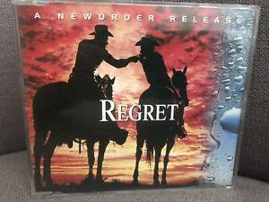 NEW ORDER - Regret (remixes) UK 4 Track CD Single (1992 NUOCD1)