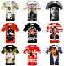Women Men T-Shirt 3D Print Short Sleeve Tee Tops Rapper Nipsey Hussle Casual