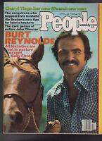People Magazine Burt Reynolds Cheryl Tiegs Elvis Costello April 23 1979 Free S/H