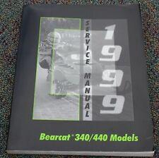 1999 ARCTIC CAT SNOWMOBILE BEARCAT 340 /440 OEM SHOP SERVICE MANUAL 2255-944
