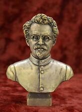 Soviet Russian Communist Leader LEV TROTSKY sculpture Lenin bust statue H=15 cm.
