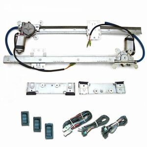 Power Window Kit for 1967-72 Chevy / CMC Truck w Switch Harnesses